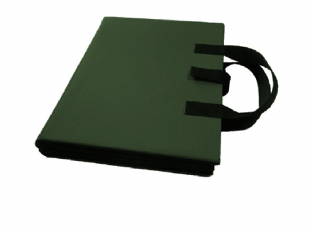 A4 Communication Book - Rigid Covers - Bottle Green
